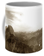 Half Dome From Glacier Point Yosemite Valley  California Circa 1910 Coffee Mug