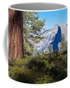 Half  Dome From Sentinel Dome Trail In Yosemite Np-ca Coffee Mug