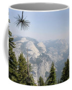 Half Dome Panorama View Coffee Mug