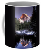 Half Dome Reflection Yosemite National Park California Coffee Mug