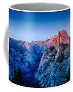 Half Dome Twilight Coffee Mug