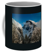 Half Dome Winter Coffee Mug by Bill Gallagher