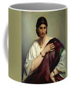 Half-length Portrait Of A Roman Woman Coffee Mug