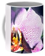 Half Orchid Coffee Mug