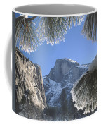 2m6757-halfdome In Winter Coffee Mug