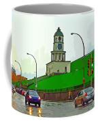 Halifax Historic Town Clock Graphic Coffee Mug