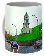 Halifax Historic Town Clock Coffee Mug