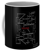 Halifax Nova Scotia Landmarks And Streets Coffee Mug