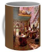 Hall And Staircase Of A Country House Coffee Mug