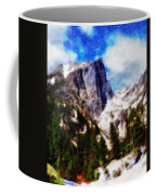 Hallett Peak In Spring Coffee Mug