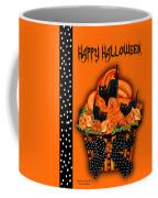 Halloween Black Cat Cupcake 3 Coffee Mug