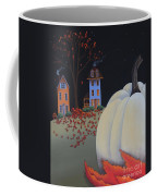 Halloween On Pumpkin Hill Coffee Mug by Catherine Holman