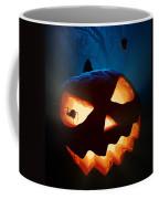 Halloween Pumpkin And Spiders Coffee Mug
