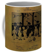 Halloween Trick Or Treaters Patent Coffee Mug