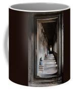 Hallway At Angkor Wat Coffee Mug
