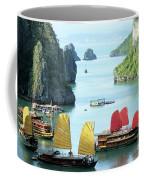Halong Bay Sails 01 Coffee Mug