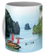 Halong Bay Sails 03 Coffee Mug