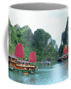 Halong Bay Sails 04 Coffee Mug