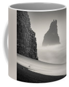 Halsenifs Hellir Sea Stack Coffee Mug