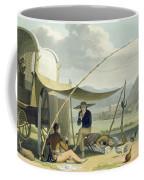 Halt Of A Boors Family, Plate 17 Coffee Mug