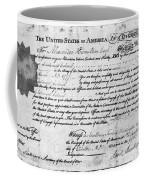 Hamilton: Appointment, 1777 Coffee Mug