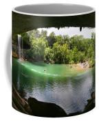 Hamilton Pool Cave Coffee Mug