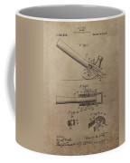 Hammer Patent Drawing Coffee Mug