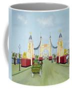 Hammersmith Bridge, 1981 Coffee Mug