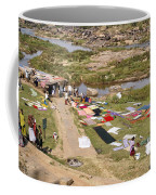 Hampi Bathing Ghats Coffee Mug