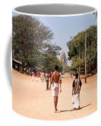 Hampi Bazzar Street Scenes Coffee Mug