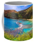 Hanauma Bay In Hawaii Coffee Mug