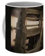 Hand Clothes Wringer Coffee Mug