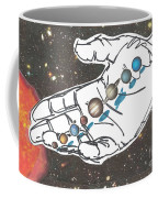 Hand Full Of Carbon Coffee Mug