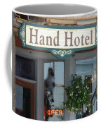 Hand Hotel Coffee Mug