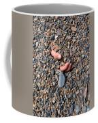 Hand In Gravel Coffee Mug by Stephan Pietzko