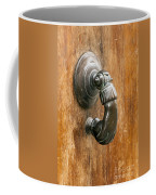 Hand Knocker Coffee Mug