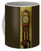Hand Painted Clockwith Chimes Coffee Mug