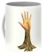 Hand Tree Coffee Mug