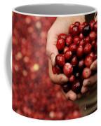 Handful Of Fresh Cranberries Coffee Mug