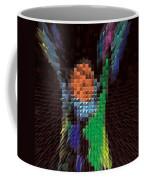 Hands Up Triangle Man Coffee Mug