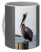 Handsome Brown Pelican Coffee Mug