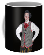 Handsome Clown At The Circus Coffee Mug