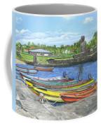 Hanga Roa Harbour Coffee Mug