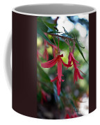 Hanging Asian Lillies Coffee Mug