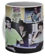 Hanging At The Diner 1949 Coffee Mug