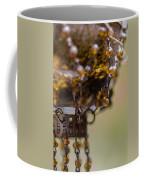Hanging Beaded Votive Abstract 2 Coffee Mug