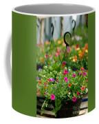 Hanging Flower Baskets Shallow Dof Coffee Mug