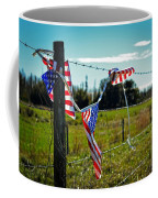 Hanging On - The American Spirit By William Patrick And Sharon Cummings Coffee Mug