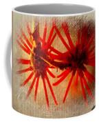 Hanging Spider Blooms Coffee Mug