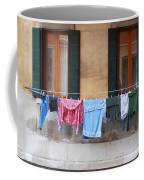 Hanging The Wash In Venice Coffee Mug